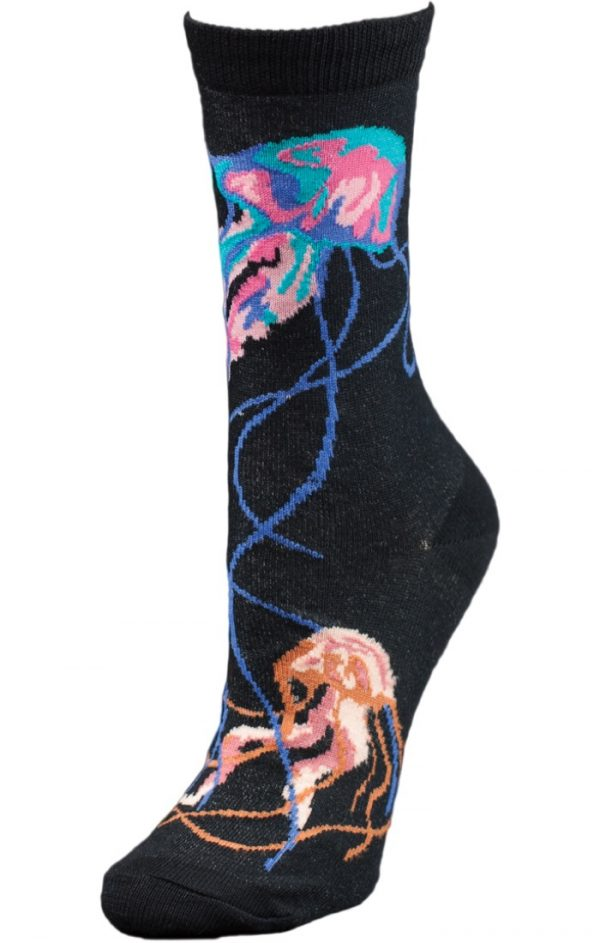 Night Jellies Unisex Crew Socks