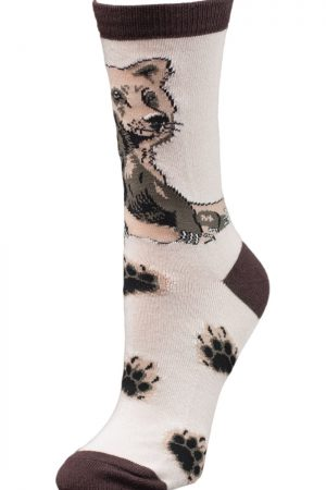 Grizzly Bear Love Wild Habitat Unisex Crew Socks