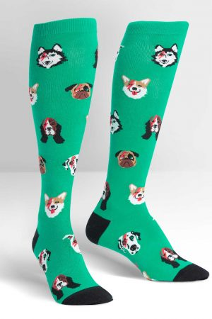 Dogs of Rock Women's Knee High Socks