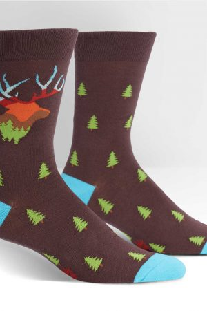 Horn to be Wild Men's Dress Socks