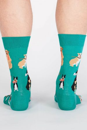 Chew on This Men's Dog Dress Socks