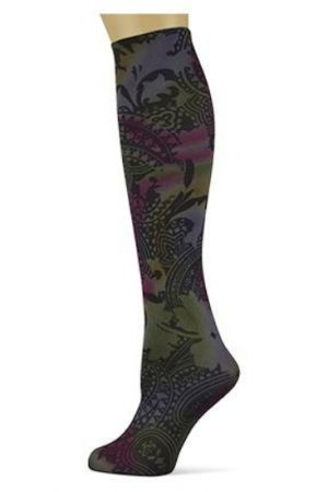 Paisley Potion Sox Trot Thin Knee High Sock
