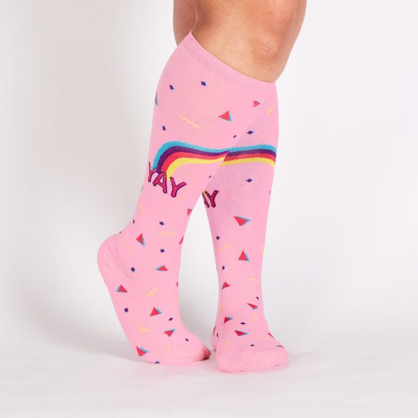 Reigning Confetti Stretch-It™ Knee High Socks