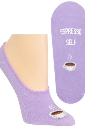Espresso Self Hot Sox Foot liner Socks