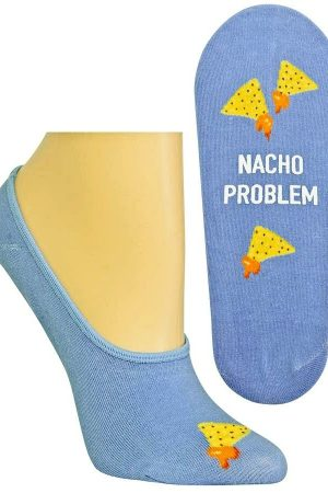 Nacho Problem Hot Sox Foot Liner Socks