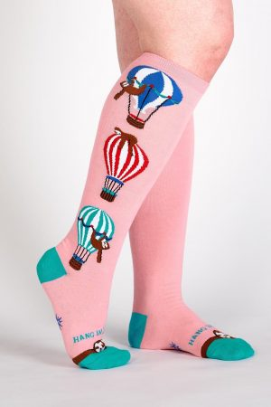 Hang in There Stretch-It™ Knee Hi Socks Front