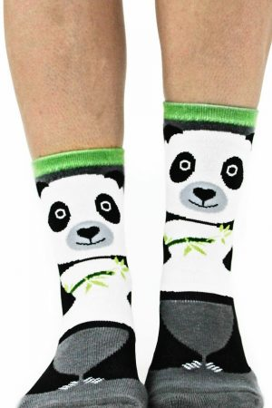 Panda Bear Foot Traffic Slipper Socks Non-Skid