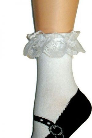 Mary Jane Shoe Foot Traffic Slipper Sock Non-Skid