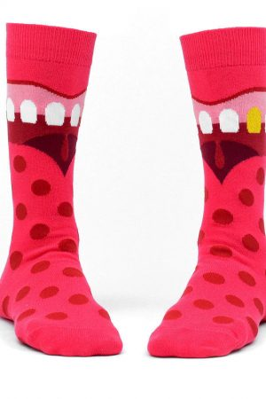 Mouth Ashi Dashi Mid Calf Crew Socks