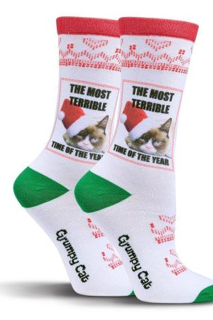 Grumpy Cat® Most Terrible Time K Bell Crew Socks