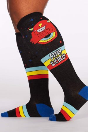 Stay Weird Stretch-It™ Knee Highs Socks