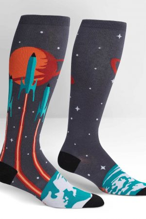 Launch from Earth Stretch-It™ Knee High Socks