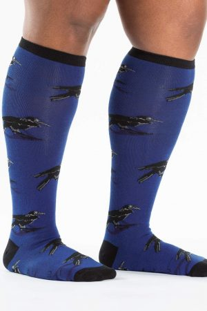 Ravens Stretch-It™ Knee High Socks