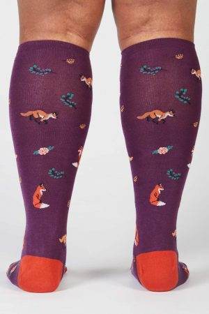 Fox Trot Stretch-It™ Knee High Socks Back