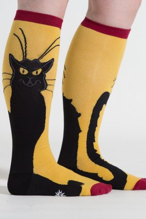 Chat Noir Black Cat Stretch-It™ Knee High Socks
