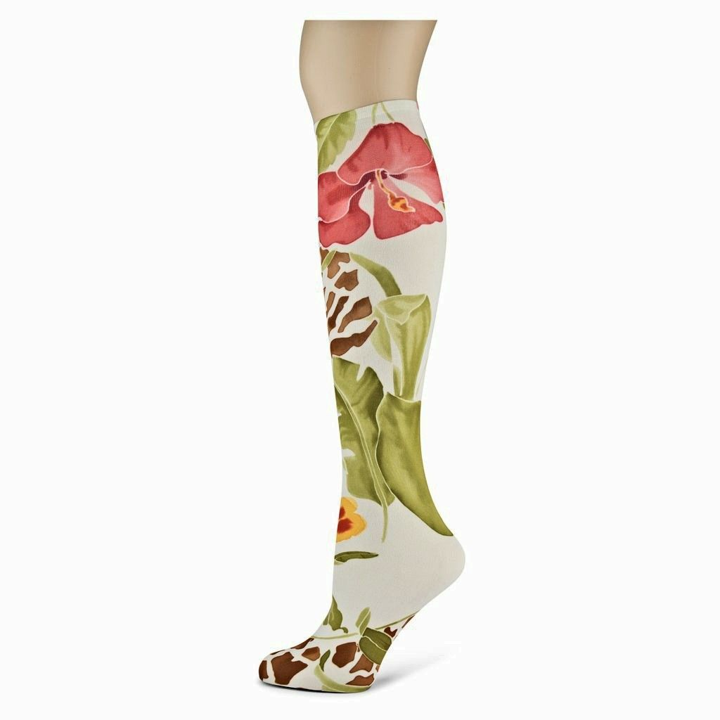 Silvana Sox Trot Thin Knee High Socks
