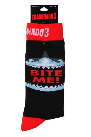 Sharknado 3 Shark Bite Trouser Crew Socks