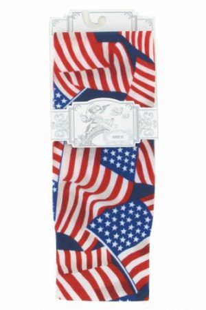 Stars & Stripes Sox Trot Thin Knee High Socks Flat