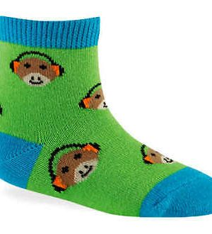 Green Monkey + Dinomite Youth Socks 2-Pack