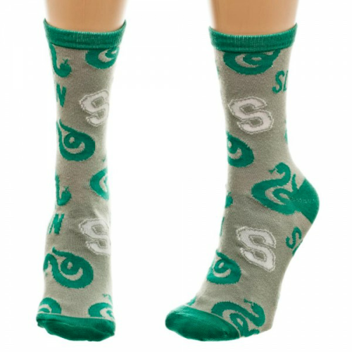 Harry Potter Slytherin Trouser Crew Socks