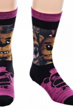Five Nights at Freddy's Crew Socks Marled