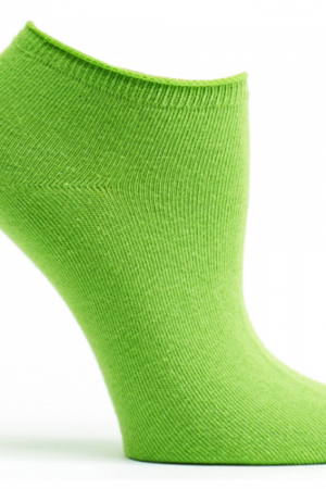 Anis Green Ozone No Show Socks