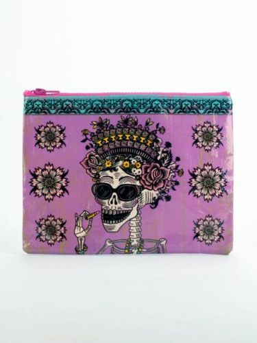 Day of the Dead Blue-Q Standard Pouch