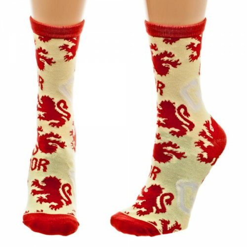 Gryffindor Harry Potter Crew Socks