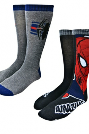 Spiderman & Symbols Sock 2 Pack