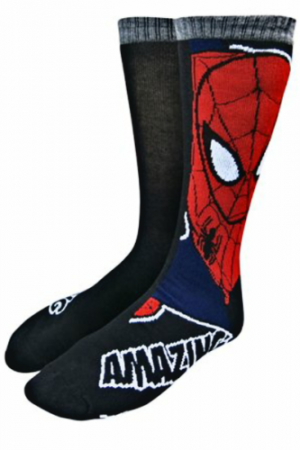 Spiderman & Symbols Sock 2 Pack 1 of 2