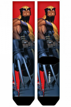 Wolverine X-Men Sublimated Crew Socks