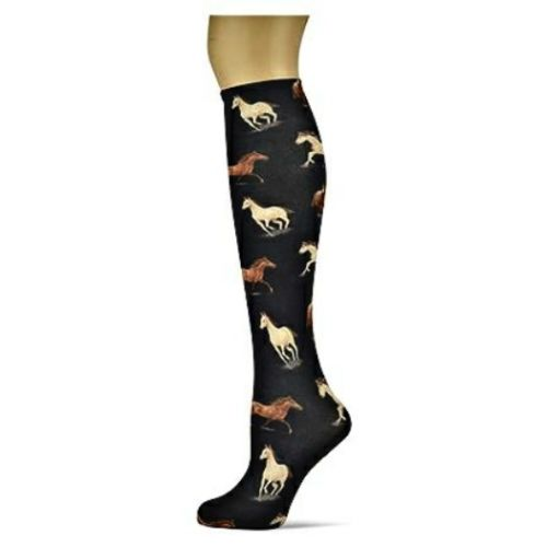 Equine Nights Sox Trot Thin Knee High Socks