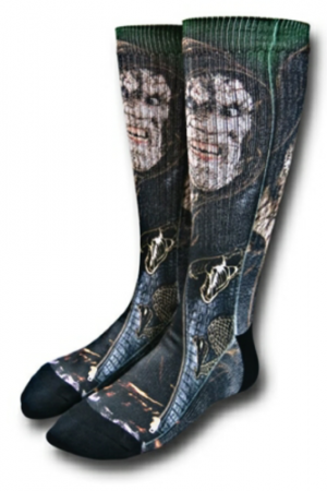 Killer Croc Suicide Squad Sublimated Crew Socks