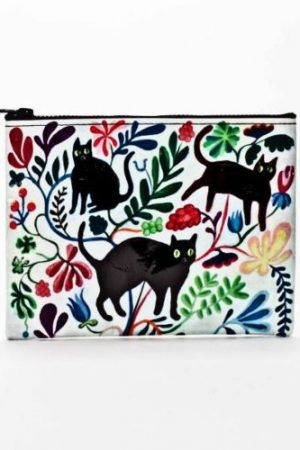 Here Kitty Blue-Q Standard Zipper Pouch