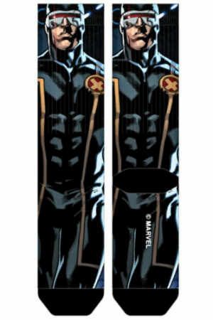 Cyclops X-Men Sublimated Crew Socks