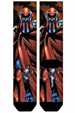 Magneto X-Men Sublimated Crew Socks