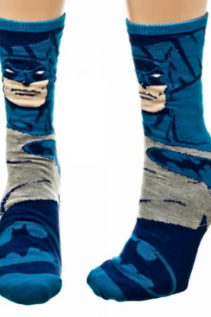 Batman Joker Flip Reversible Crew Socks