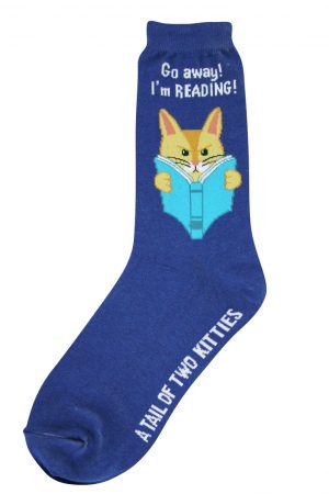 Reading Kitty Foot Traffic Trouser Crew Socks