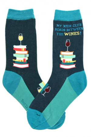 Book Club Foot Traffic Trouser Crew Socks