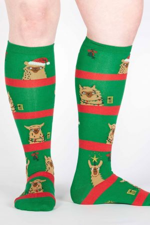 Fa La La Llamas Knee High Socks