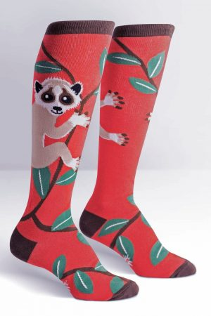 Slow Loris Knee High Socks