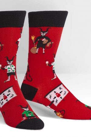 Krampus Dress Crew Socks