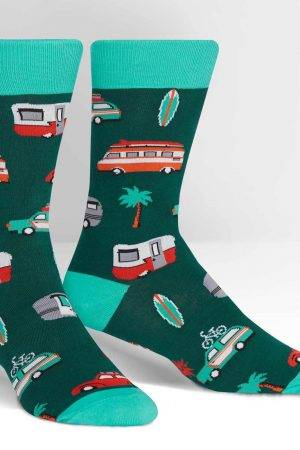 Day Tripper Dress Crew Socks