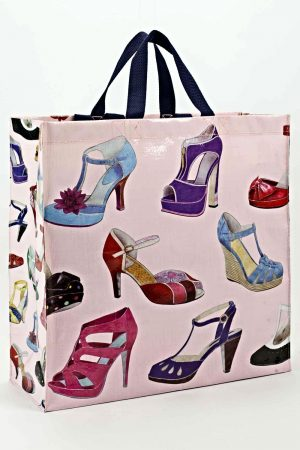 Shoes Galore Blue-Q Shopping Tote 6291083d40503