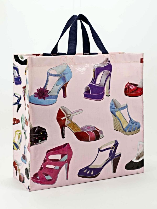 Shoes Galore Blue-Q Shopping Tote