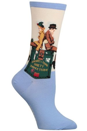 Gaiety Dance Team Hot Sox Trouser Socks