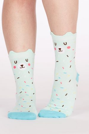 Bearly Sprinkled Trouser Crew Socks