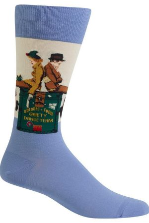 Gaiety Dance Team Hot Sox Crew Socks