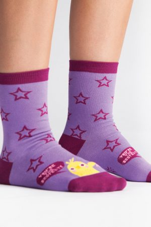 Best-est Chick Trouser Crew Socks