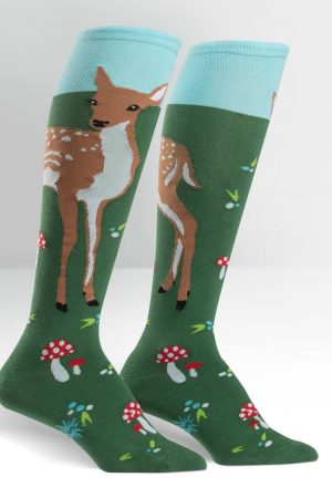 Fawn Memories Knee High Socks